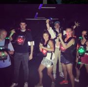 #lasertag #PRretraite #agencylife